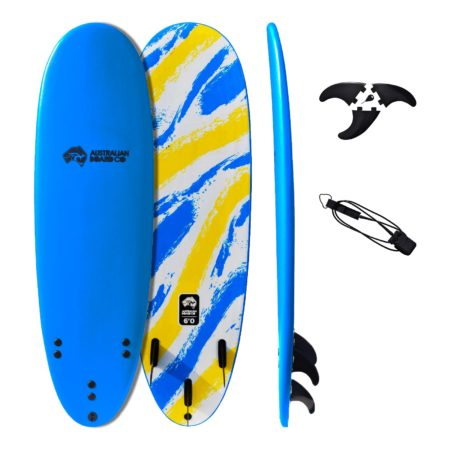 "5' 8"" Australian Board Co Soft Performance Surfboard"