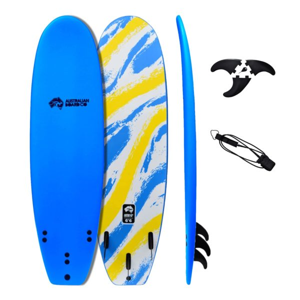 "5' 8"" ABC Performance Soft Top Kids Shortboard Surfboard"