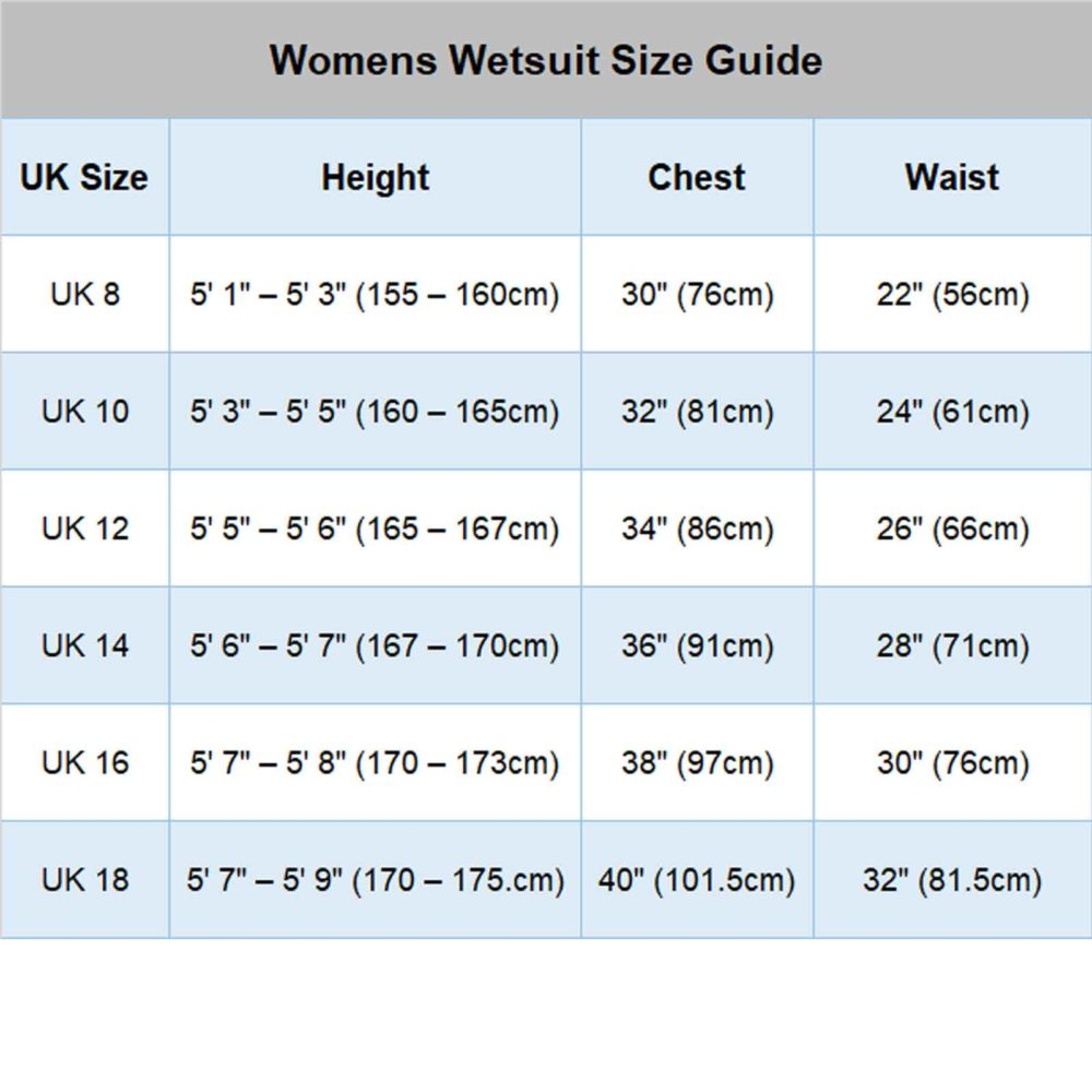 DIVA Womens 5/4/3mm GBS WINTER Chest Zip Wetsuit