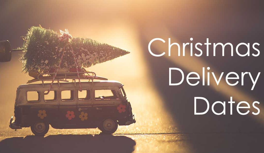 Christmas Shipping & Delivery Dates