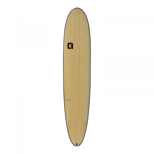 "7' 2"" Bamboo Round Tail Mini Mal Surfboard 2020"