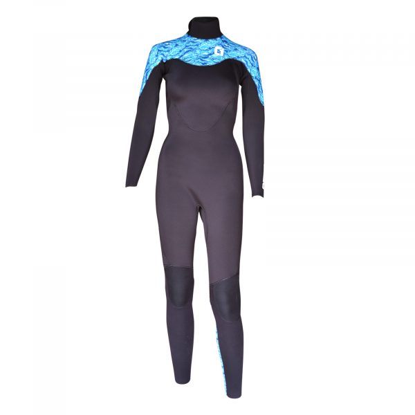 Womens Kona 3/2mm GBS Summer Back Zip Wetsuit 2020