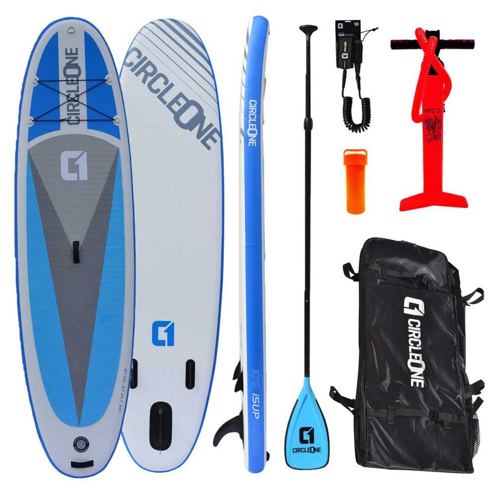 "Circle One 10' 6"" Double Layer Inflatable Paddle Board SUP Package 2020"