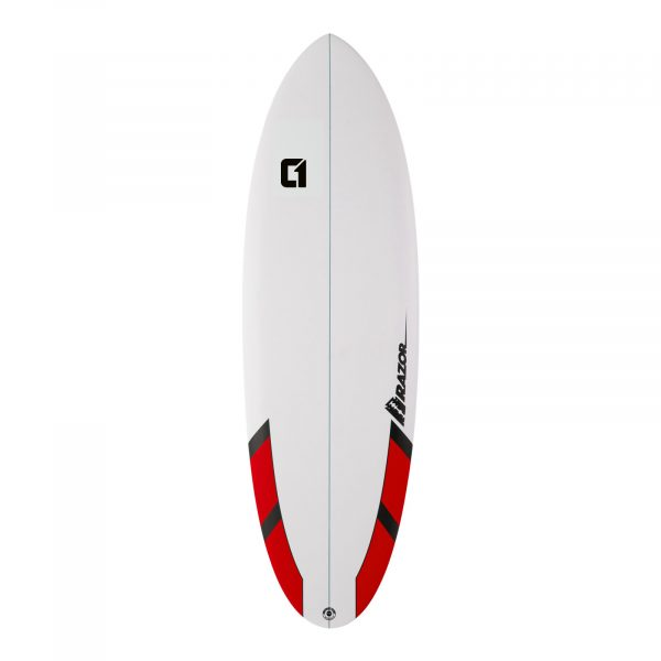 6ft Razor Round Tail Shortboard Surfboard - Matt Finish