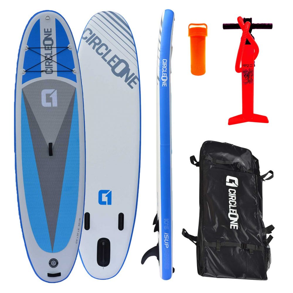 """Circle One 10' 6"""" Double Layer Inflatable Paddle Board SUP 2020"""