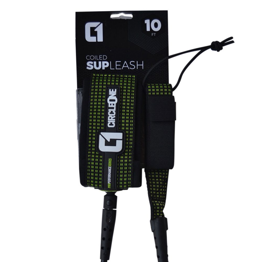 10ft Coiled SUP Knee/ Ankle Leash 2020