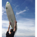 Razor-Surfboard-against-blue-sky