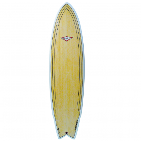 6ft-8inch-Bamboo-Surfboard-deck