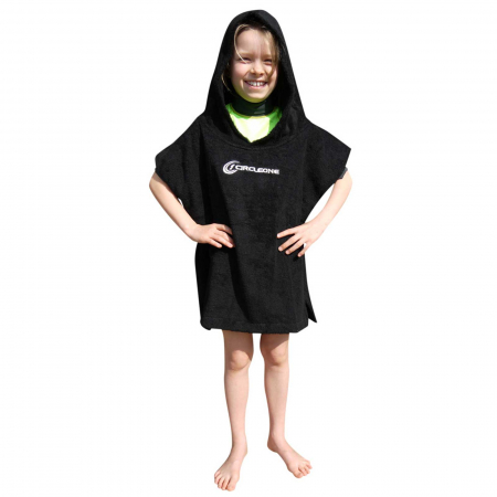 An image of the Circle One Kids Changing Towel Poncho.