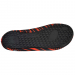 An image of the underside of the Adult Skinshoes Beach shoes in red.