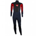 An image of the front of the 2017 Pulse men's wetsuit in red.