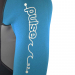 An image of the sleeve of the 2017 Pulse kids summer shorty wetsuit.