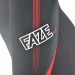 An image of the side of the 2017 FAZE women's wetsuit in red.