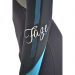 An image of the left arm of the 2017 FAZE women's wetsuit in blue.