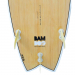 6ft-11inch-Bamboo-Surfboard-Bottom-Fins17