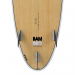 Circle One Bamboo Surfboard 76 Fins