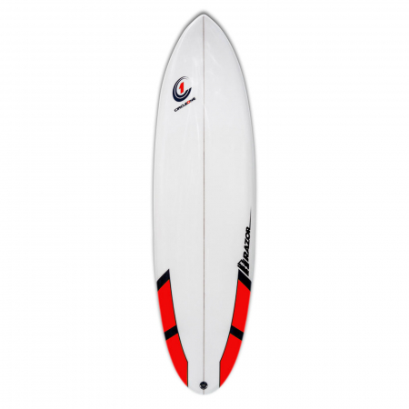 The Razor 6ft 6inch Round Tail Surfboard.
