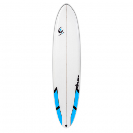 An image of the Razor, one of Circle One's UK Surfboards.